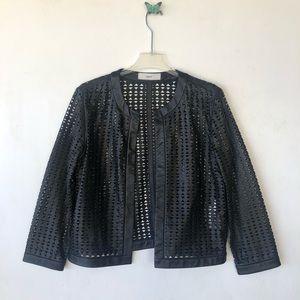 Uterque black jacket sz large
